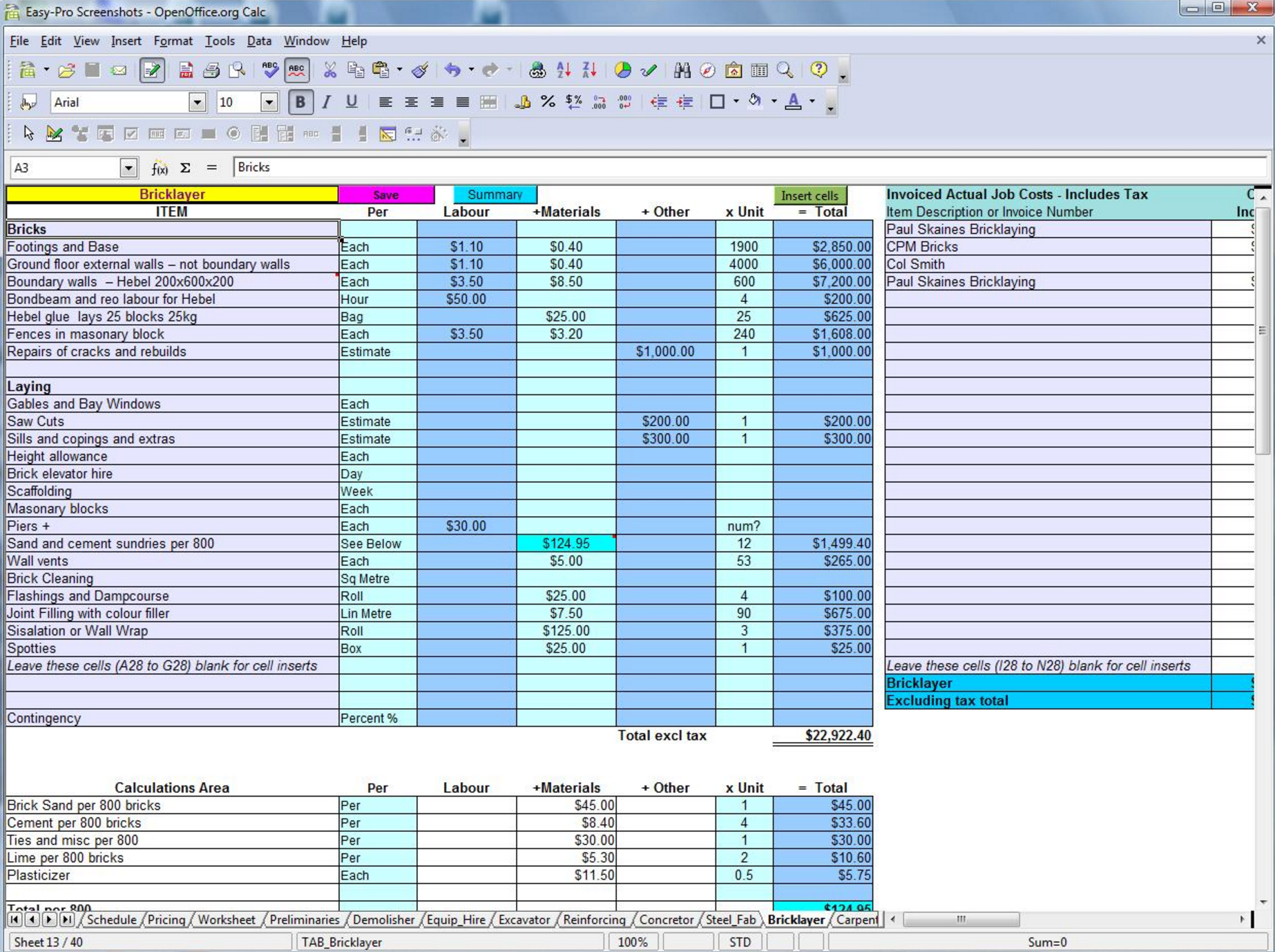 Free Construction Estimating Takeoff Products Perfect For SMBs - Invoice and estimate software free