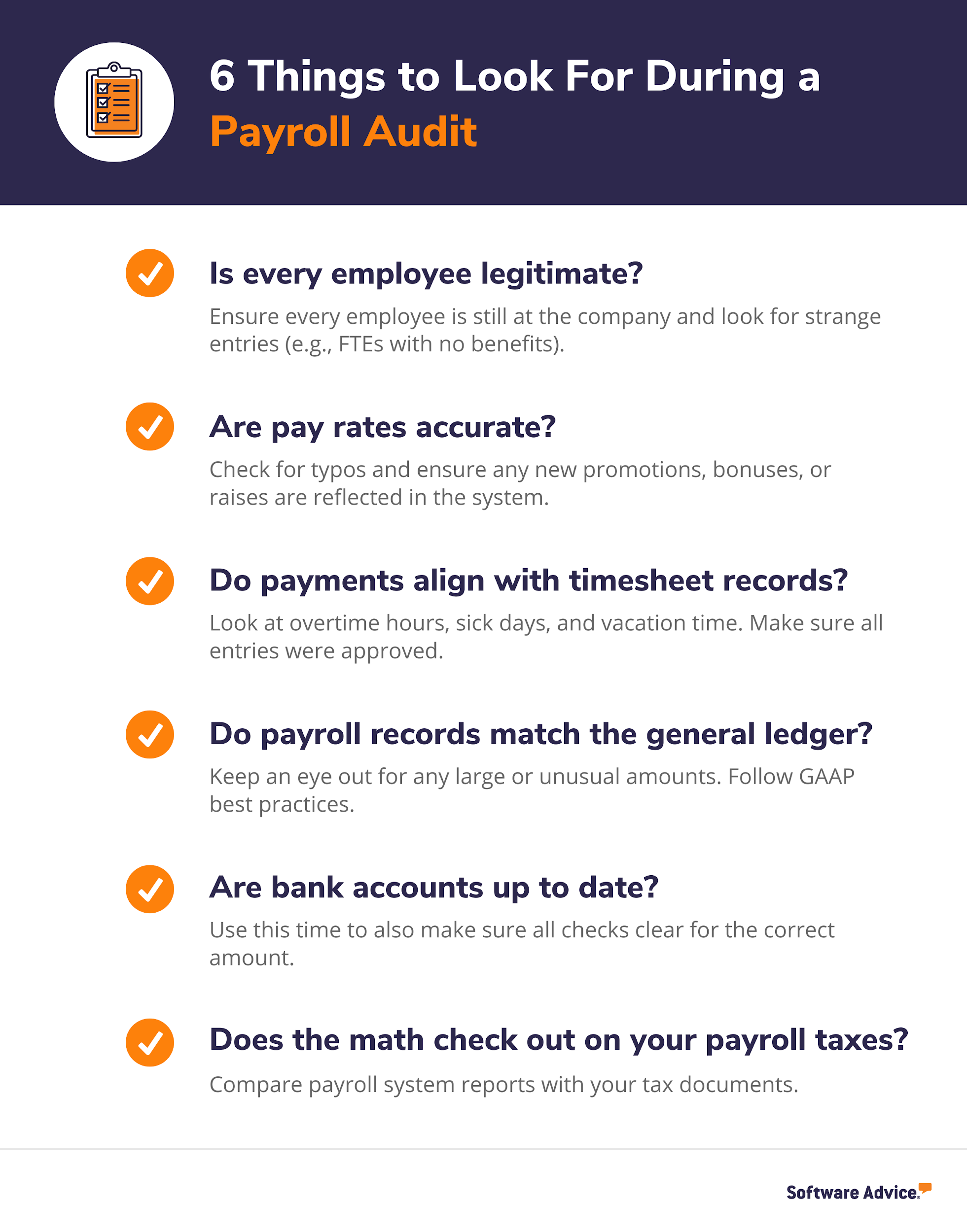 6 Things to Look For During a Payroll Audit