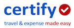 certify expense management software logo