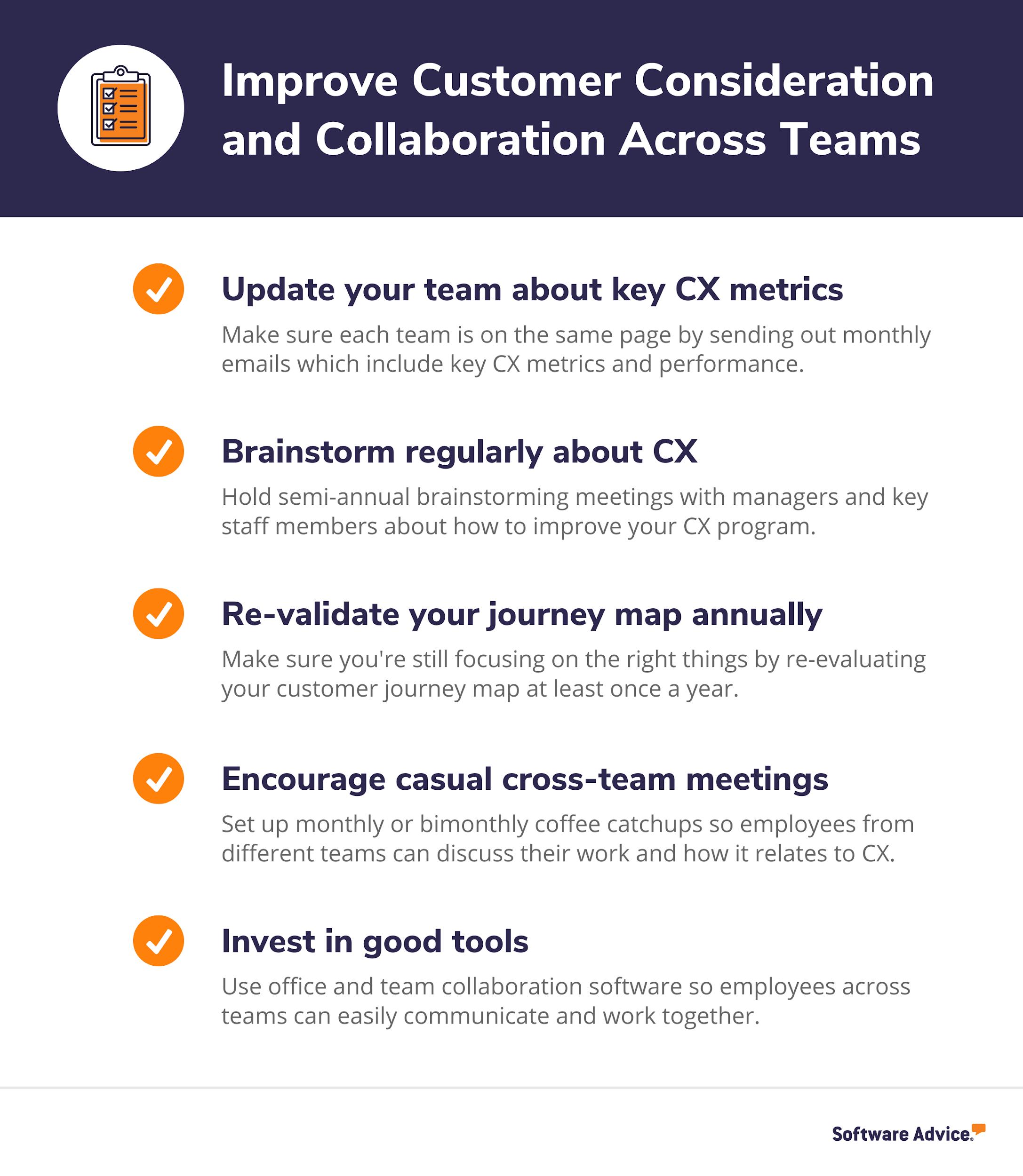 Improve employee collaboration