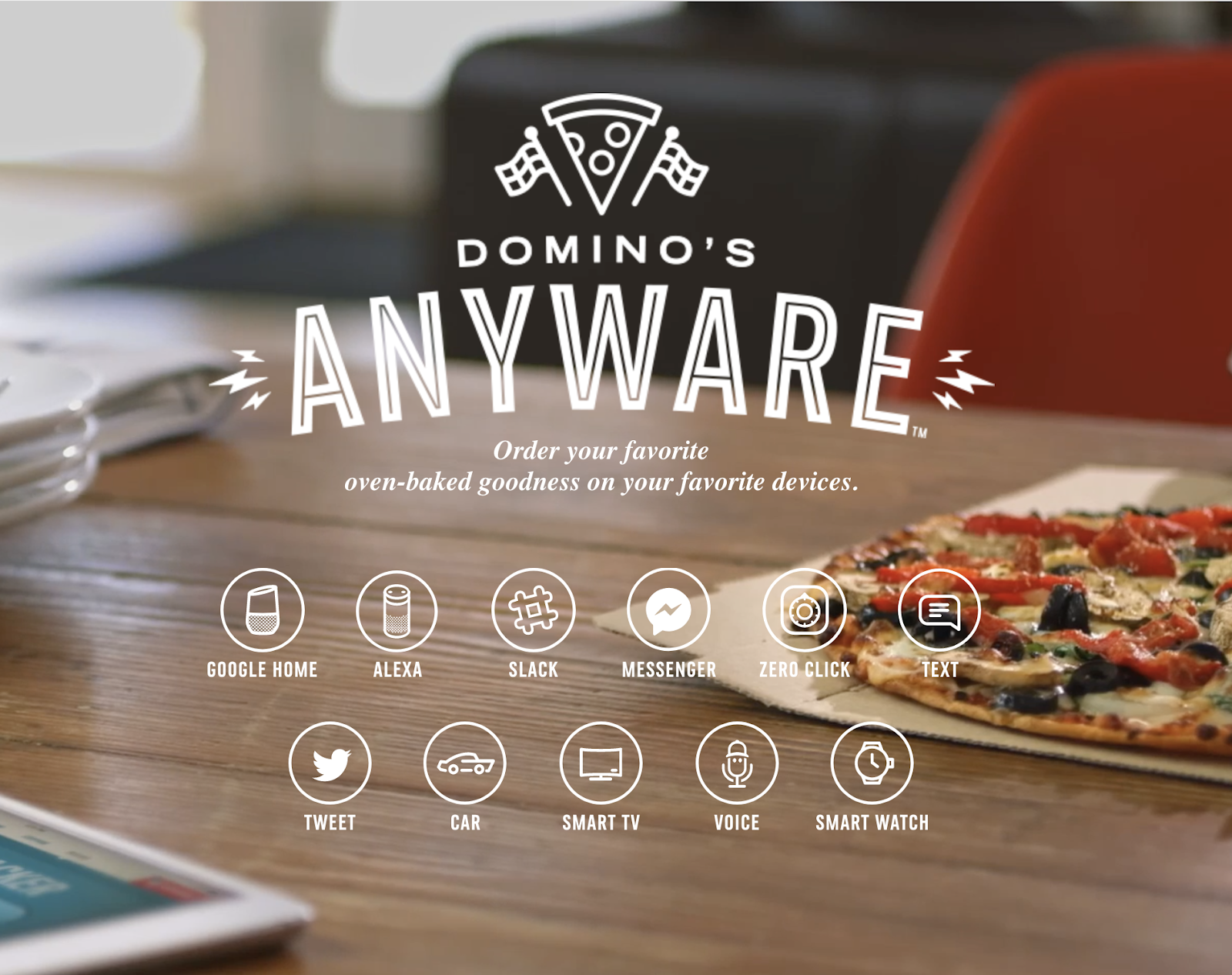 dominos anyware site ordering