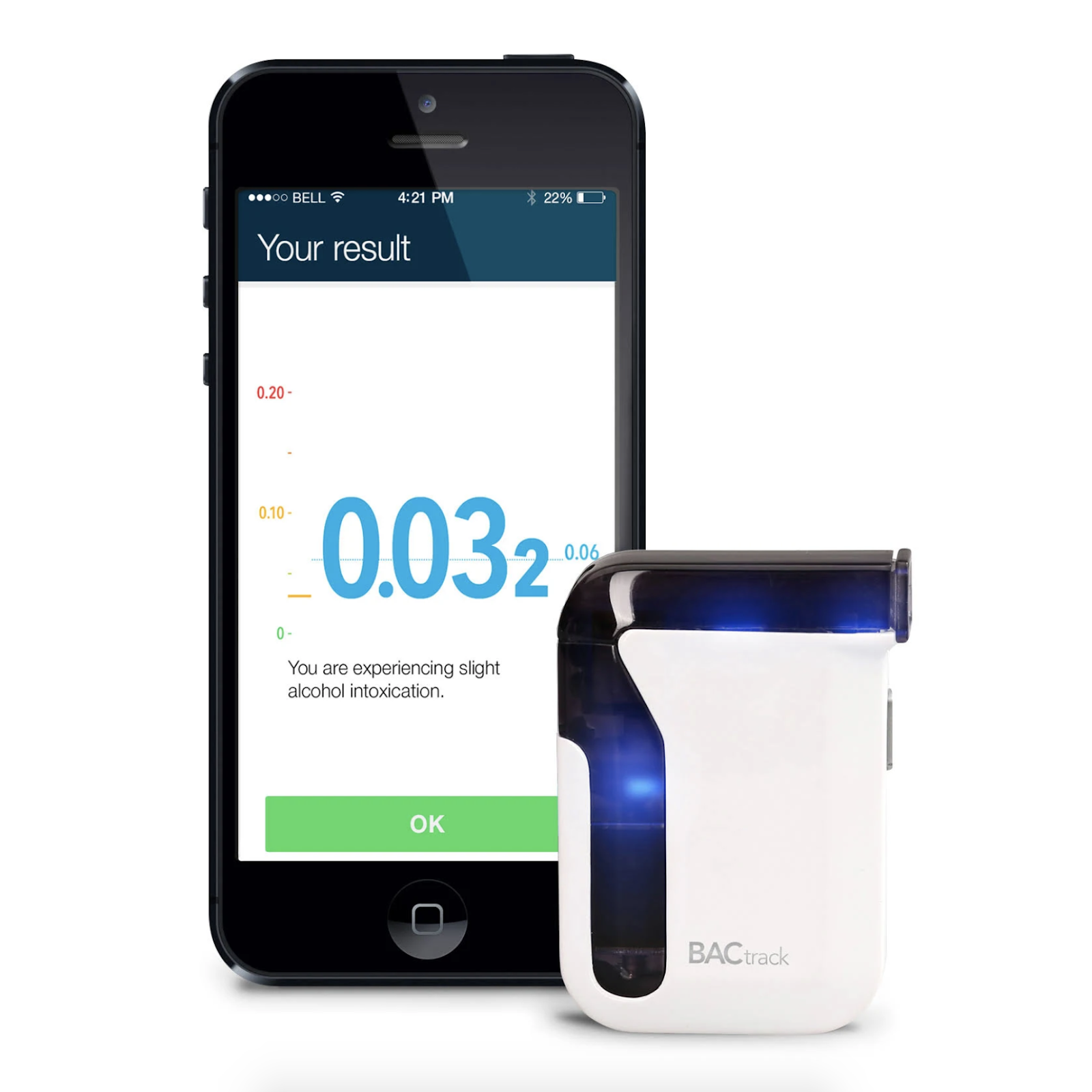 BACtrack Breathalyzer for phone